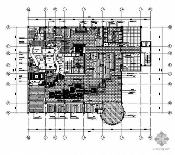 某茶楼装修施工图