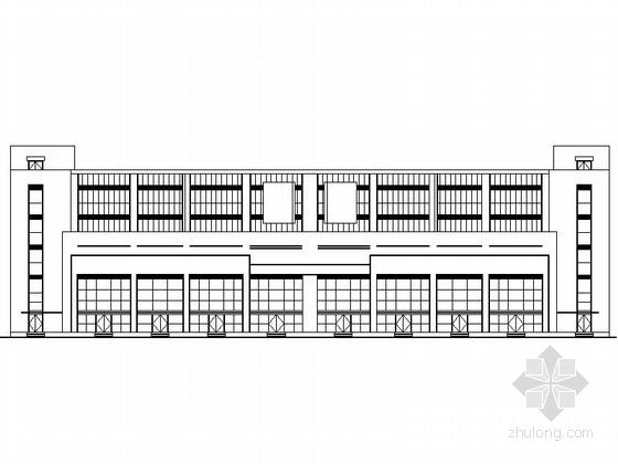 [银川]某商业中心规划及单体设计施工图(含效果图)