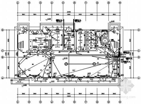 六层快捷酒店电气施工图