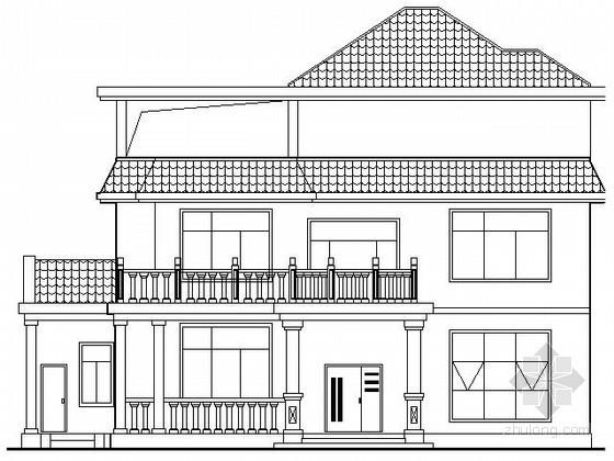 某三层中式别墅建筑施工图