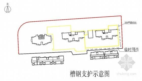 [江苏]高层住宅楼深基坑开挖支护施工方案(钢板桩)