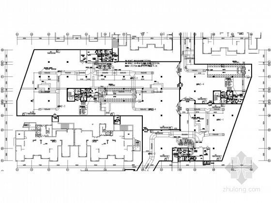 [安徽]地下室人防通风工程设计全套施工图(详图丰富)