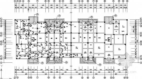 异形柱框架商场结构施工图