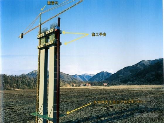 30~75m高墩施工专项安全技术方案(方墩 翻模法)