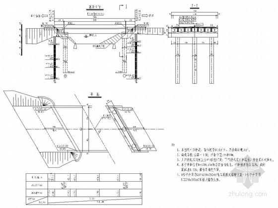 1-20m后张法预应力砼T梁桥全套设计图(33张)