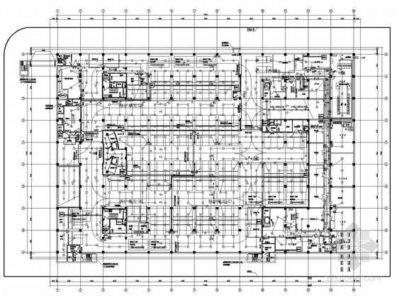 机场航空业务管理办公楼电气施工图纸
