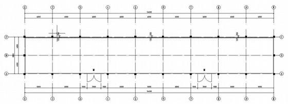 7m单层砖混仓库结构施工图