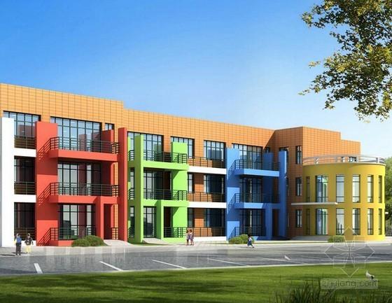 [安徽]小学及幼儿园教学楼建筑安装工程量清单计价实例(含图纸)