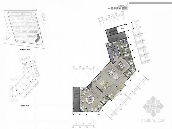 [重庆]高端花园小区售楼处及样板间设计方案