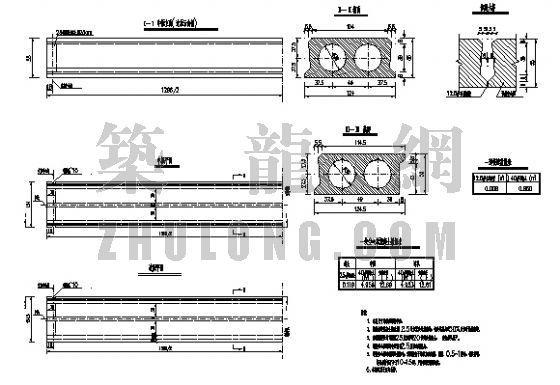 桥梁上部结构预制空心板电子图