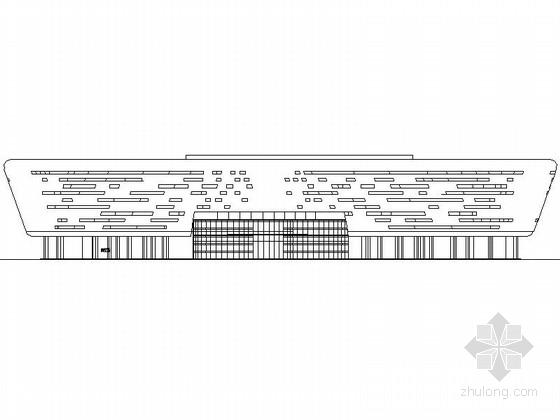 [东莞]某四层展览馆建筑扩初图(含效果图)