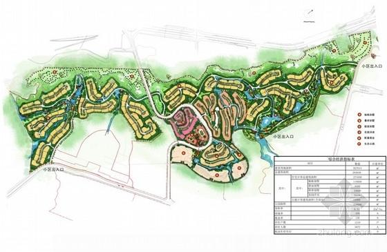 [重庆]山地公园别墅区概念性规划设计方案