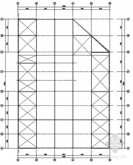 [安徽]钢结构汽车4S店结构施工图