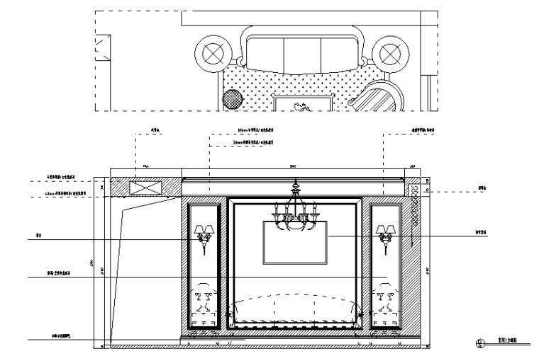 [湖北]海赋江城天韵样板房设计施工图(附效果图)_3