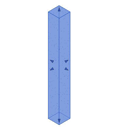 混凝土-正方形-柱