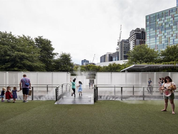 澳大利亚花园围墙展览馆