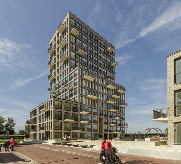 荷兰ZeeburgerIsland住宅综合体-5