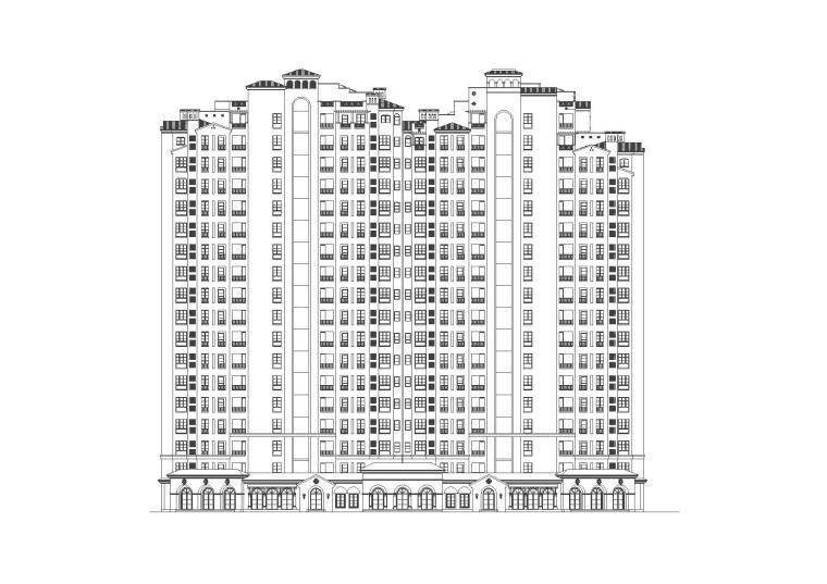 vr体验区意向图资料下载-[上海]九龙仓欧陆风格居住区设计方案施工图与文本(CAD+PDF)