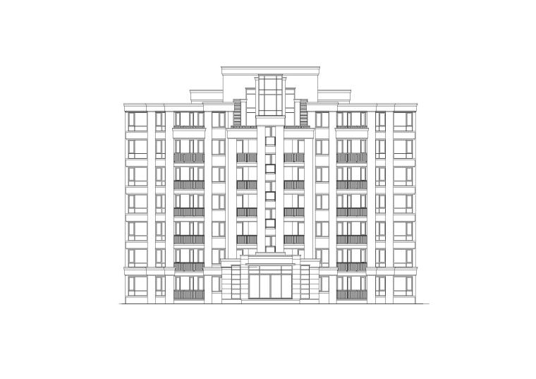 [上海]多地块居住区规划及建筑设计方案文本与扩初图(CAD+PDF)