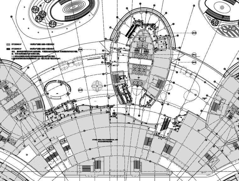 Dunca山东济南高速广场丽笙酒店施工图设计+方案设计