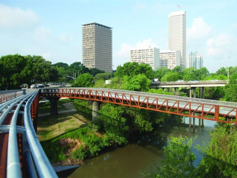 美国罗斯蒙特人行天桥和步道