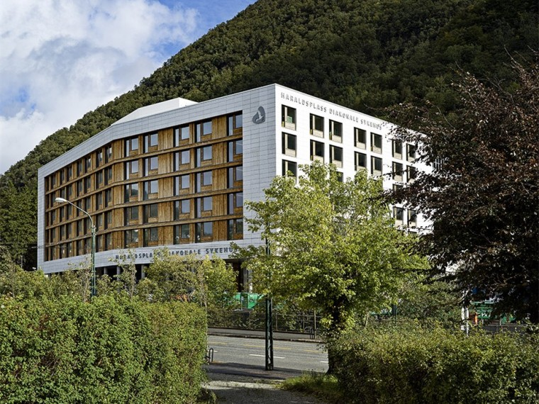 挪威Haraldplass医院扩建
