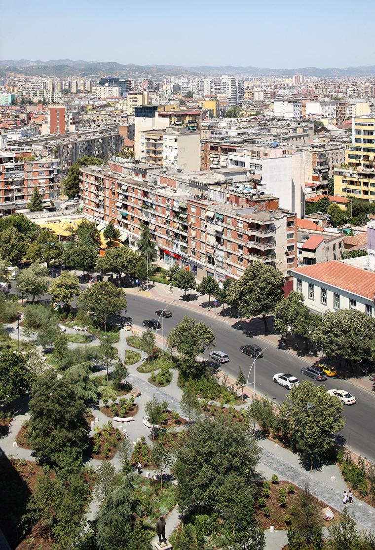 阿尔巴尼亚Skanderbeg广场改造-2