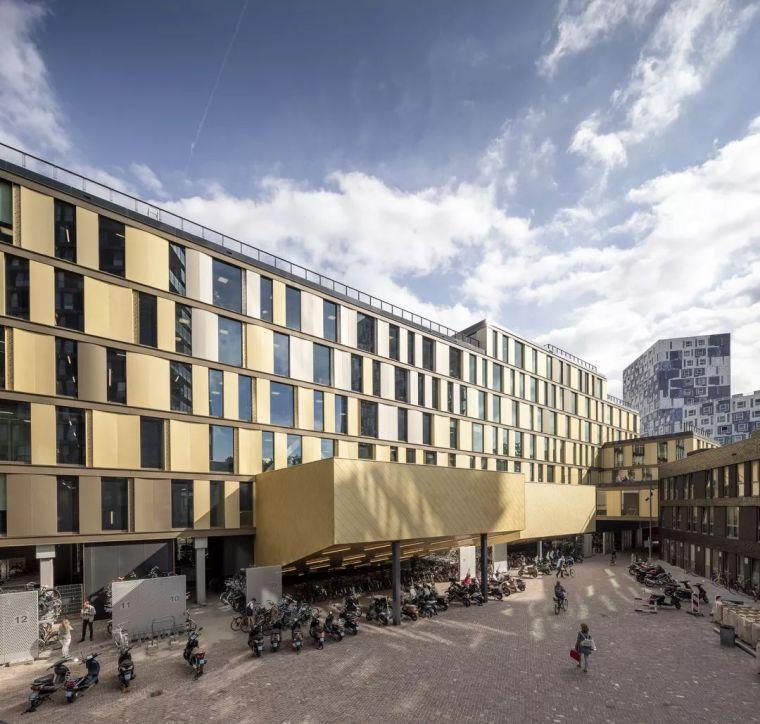 拥有一个霸道中庭的荷兰UTRECHT应用科学大学教学楼/SHL_8