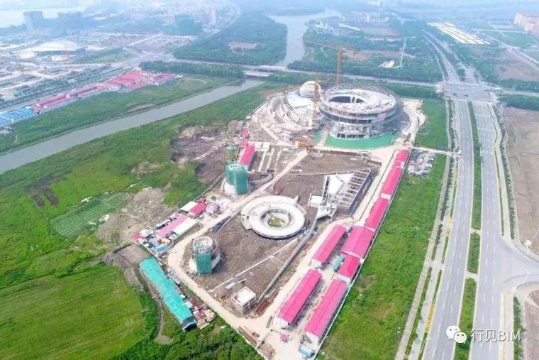 世界最大天文馆之一——上海天文馆主体钢结构工程收尾_5