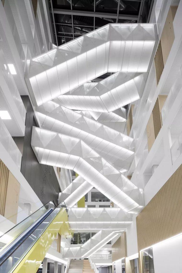 拥有一个霸道中庭的荷兰UTRECHT应用科学大学教学楼/SHL_19