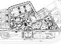 [重庆]加州城市花园景观CAD施工图(观景廊架,入口大门浮雕)
