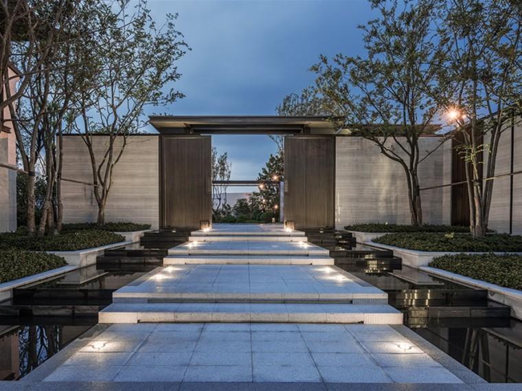 扬州石榴瘦西湖院子住宅景观
