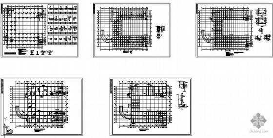 某6级人防地下室结构图