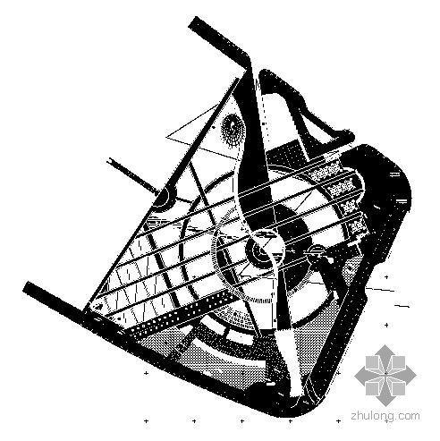 西宁市中心广场施工图全套