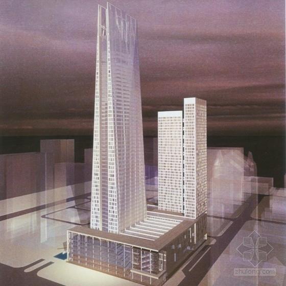 [广东]超高层玻璃幕墙商业综合体建筑设计方案文本(精品资料 附图丰富)