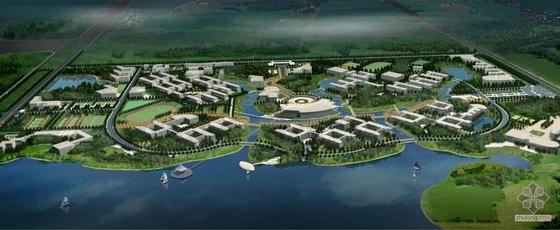 湖北武汉大学新校区环境深化设计方案