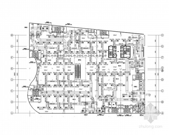 [河北]高层公建商务楼暖通空调全套系统设计施工图