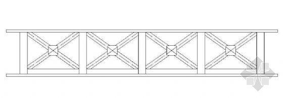 意大利式木桥大样详图