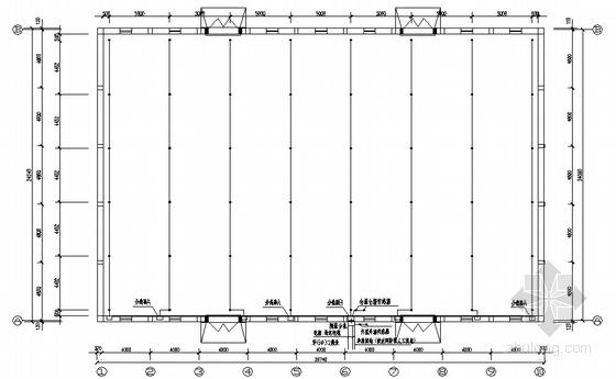 粮食储备库平房仓电气图