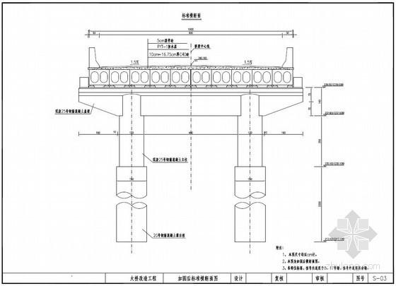 S247线宜阳境某大桥改造工程设计图