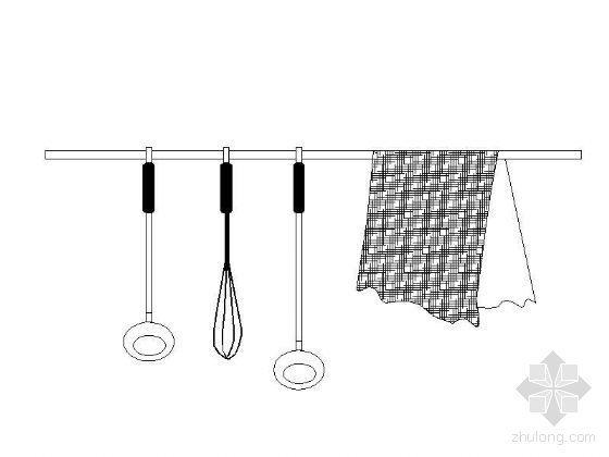 实用厨房用品图块集