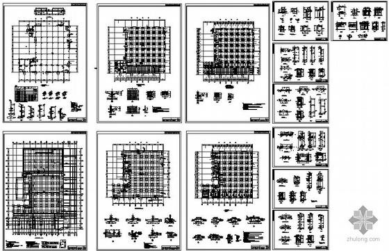 某综合楼人防地下室结构设计图