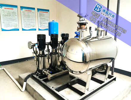陕西汉中二次供水为何使用无负压供水设备?