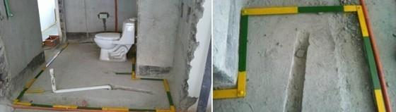 建筑工程卫生间局部等电位模块化系统安装工法