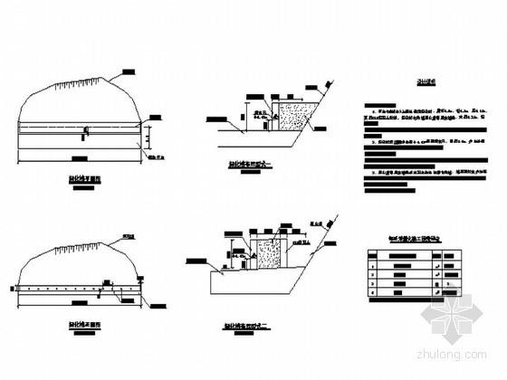铁路路基工程绿化槽设计图