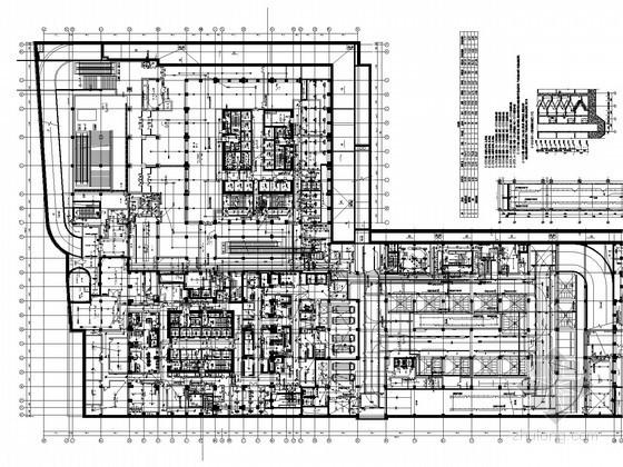 [山东]237米国贸中心全套强电施工图830张(3栋超高层含5A办公6星酒店 装饰电气)