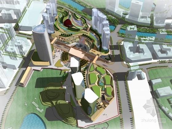 [云南]宜居宜乐型现代风格城市综合体规划设计方案文本(多个地块 两种方案)
