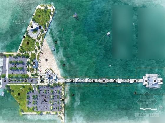 [圣彼得堡]海滩码头景观规划设计方案