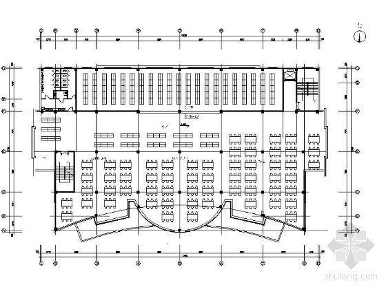 文化馆平面设计图