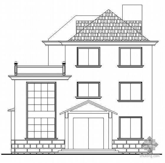 富阳市某三层独立式村民住宅楼建筑结构施工图